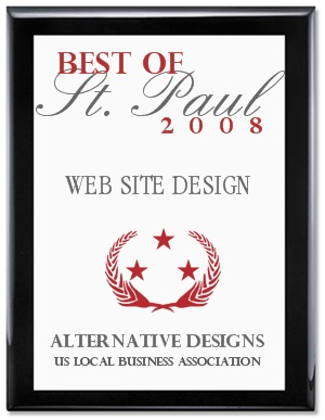 Best of St. Paul, MN Business Award